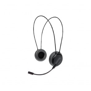 Crypto Headset [HS-250 Black]  Dual Function On-Ear Close, W005961,