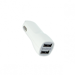 CREEV CHARGER [CP-210 WHITE]  car charger 2XUSB 5V/1A-5V/2A, W006462,