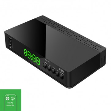 CRYPTO DVB-T2 RECEIVER [ReDi 271] FHD HEVC with SMART TV Remote Control, W016026, by CRYPTO