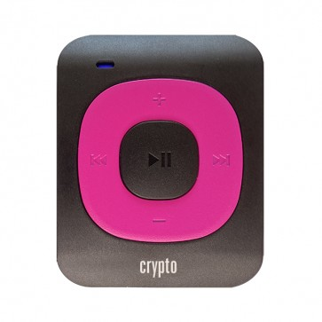 CRYPTO MP3 [MP300 PLUS 32GB BLACK/FUCHSIA], W016004, by CRYPTO