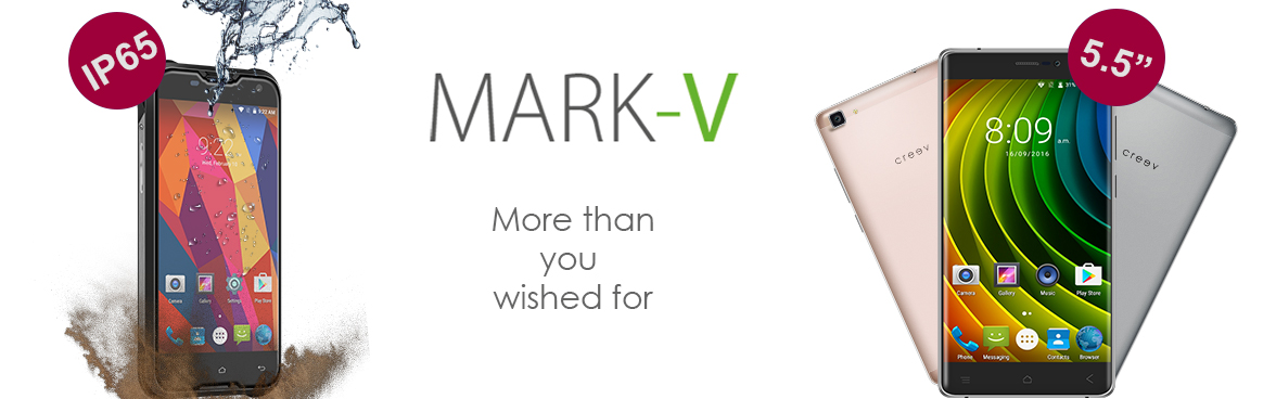 Creev Mark-V Plus Creev Mark-V Tough