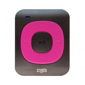CRYPTO MP3 [MP300 PLUS 16GB BLACK/FUCHSIA], W016003,