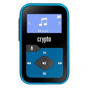 CRYPTO MP3 [MP330 PLUS 16GB BLACK/BLUE], W016035,