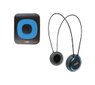 CRYPTO MP3 [MHP300P10] TRAVELLER BUNDLE MP300 PLUS 16GB BLUE + HP100 BLUE, ,