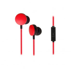 CRYPTO EARPHONE [EF-100 Black/Red] Handsfree In-Ear, W005969,